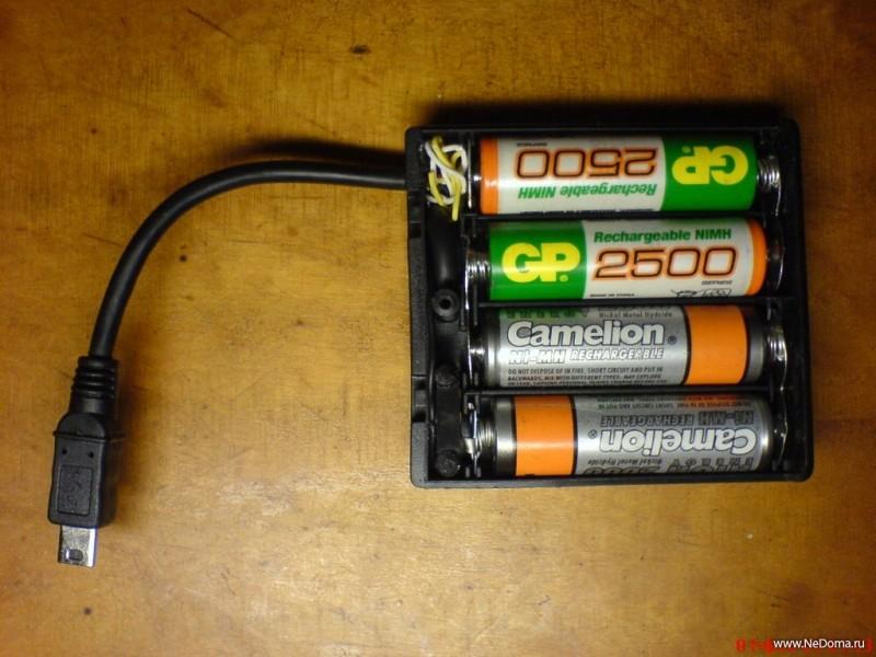 Как из батареек сделать аккумулятор на 6 вольт из батареек